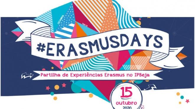 """IPBeja associa-se à celebração """"Erasmus Days 2020"""""""
