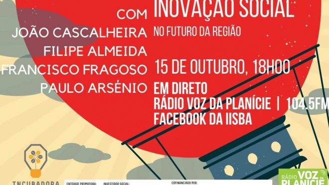 """Fenix Talks: dedicada ao tema """"Papel da Inovação Social no Futuro da Região"""""""