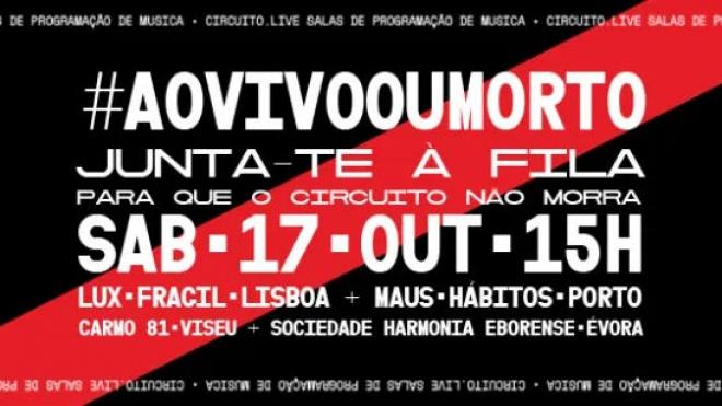 """""""#aovivooumorto"""": com manifestações em Évora, Lisboa, Porto e Viseu"""