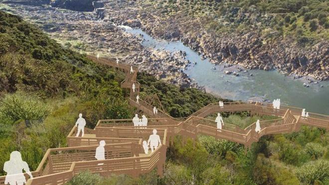 Serpa: Passadiços vão chegar ao Pulo do Lobo, a cascata do Guadiana