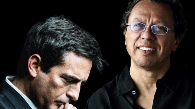 """""""Camané e Mário Laginha - Aqui Está-se Sossegado"""" no Pax Julia"""