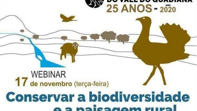 "PNVG: ""Conservar a biodiversidade e a paisagem rural"" é tema de webinar"