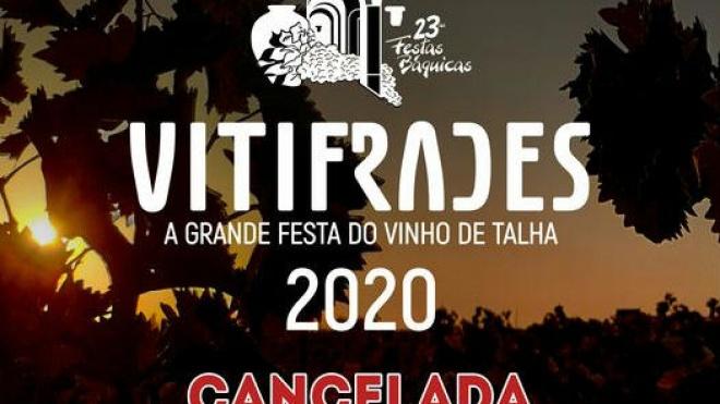 VITIFRADES 2020 cancelada