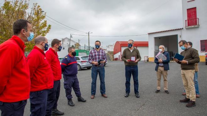 Presidente da Câmara Municipal de Moura destaca o trabalho dos Bombeiros de Moura