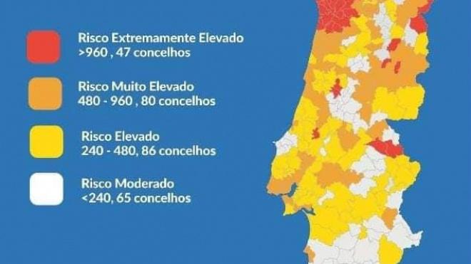 """Beja, Aljustrel e Ferreira saem da lista dos concelhos com regras mais """"apertadas"""""""