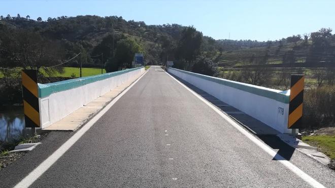Conclusão dos trabalhos de reabilitação da Ponte do rio Vascão