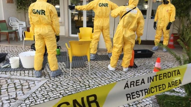 COVID-19: GNR descontaminou mais de 500 instalações