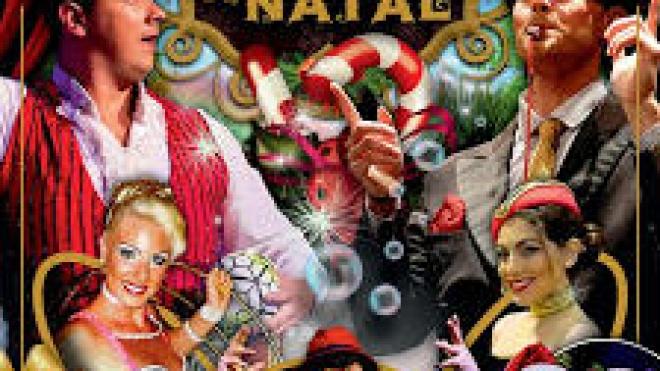 Circo Mágico de Natal no Pax Julia em Beja