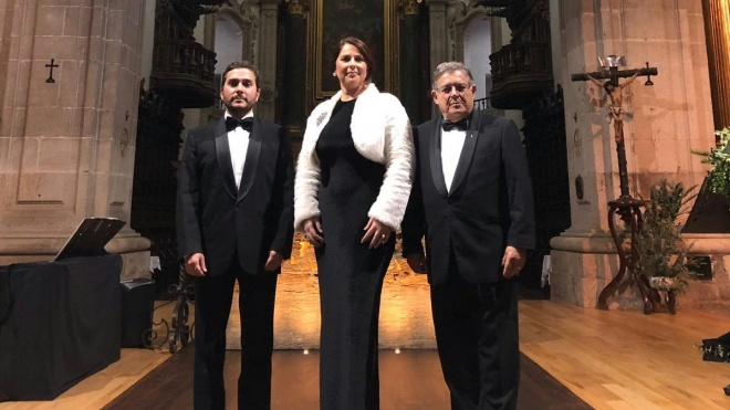 Beja recebe hoje Concerto de Natal com Carlos Guilherme e Teresa Tapadas