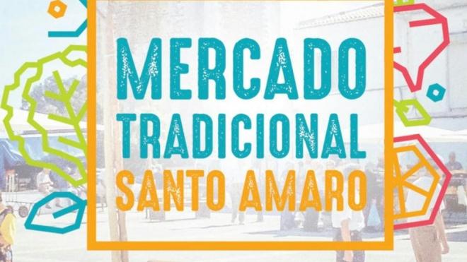 Mercado de Santo Amaro realiza-se hoje