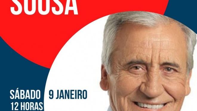 Jerónimo de Sousa está hoje em Aljustrel