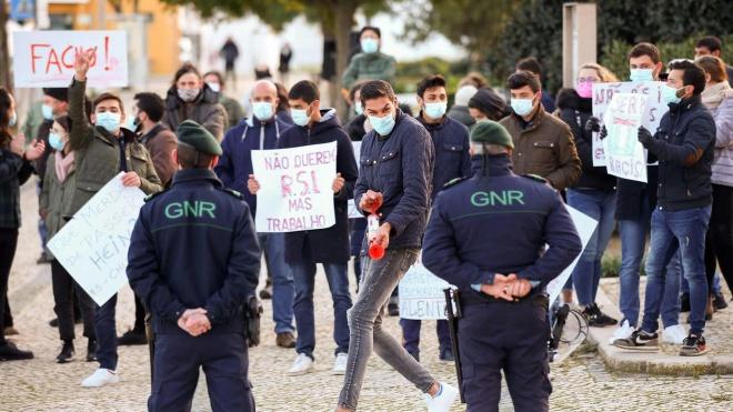 Presidenciais: campanha já arrancou. Chega recebido em Serpa com protestos