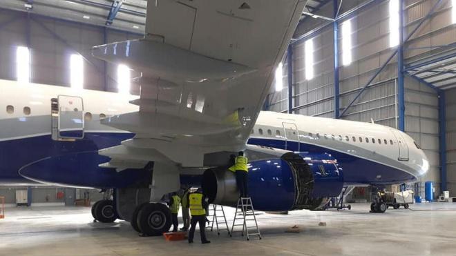 """Hangar da """"Mesa"""" no aeroporto de Beja já está a fazer manutenção de aeronaves"""