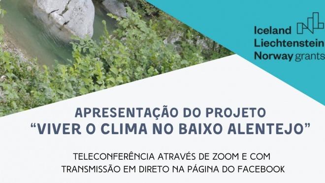 """EDIA e CIMBAL apresentam """"Viver o clima no Baixo Alentejo"""""""