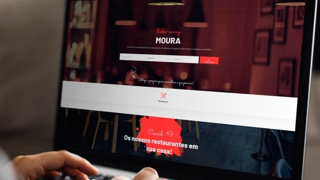 """""""Moura take-away"""" é novo portal online do concelho destinado à restauração"""