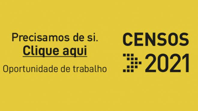 Censos 2021: inscrições até 15 de fevereiro. Ajude a contar