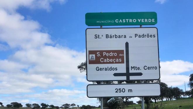 Castro Verde com nova sinalética vertical