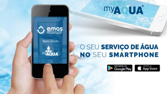 """""""myAQUA"""": a nova aplicação fornecida pela EMAS de Beja"""