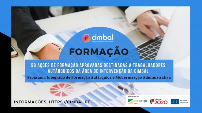 CIMBAL promove ações de formação destinadas a trabalhadores dos municípios do Baixo Alentejo