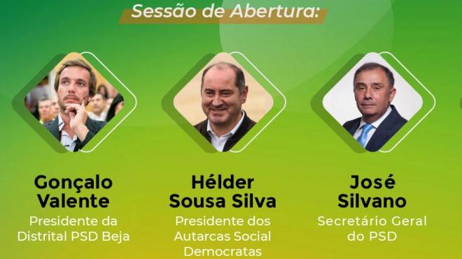 PSD: inicia hoje ciclo de formação e a primeira sessão é protagonizada por Beja