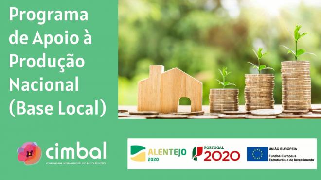 Baixo Alentejo: 32 candidaturas entregues ao Programa de Apoio à Produção Nacional (Base Local)