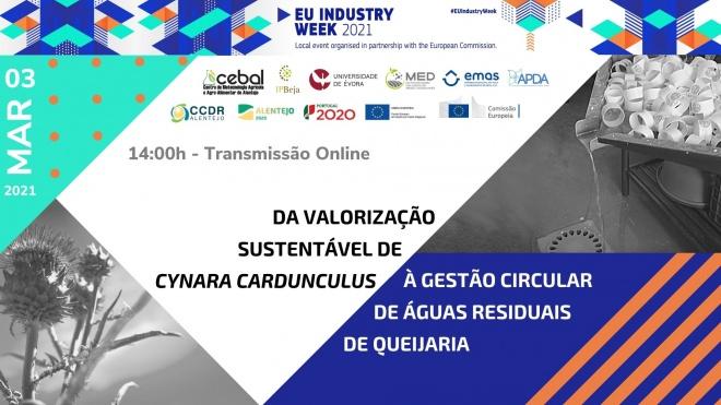 CEBAL promove soluções inovadoras na semana da indústria na EU 2021