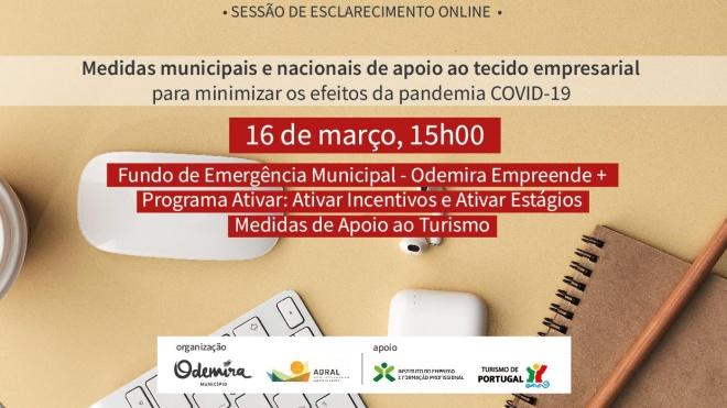 Odemira promove sessão de esclarecimento sobre medidas de apoio às empresas