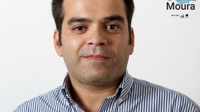 Autárquicas 2021: André Linhas Roxas é a aposta da CDU para Moura