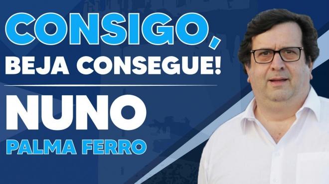 """Autárquicas 2021: Nuno Palma Ferro concorre para """"melhorar Beja"""" e """"ganhar a Câmara"""""""