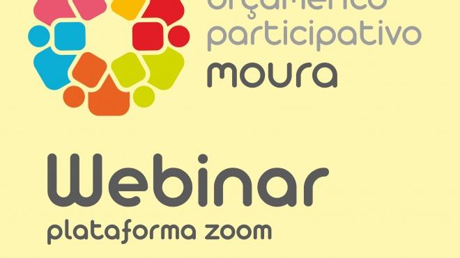 Moura: promove Webinar sobre Orçamento Participativo