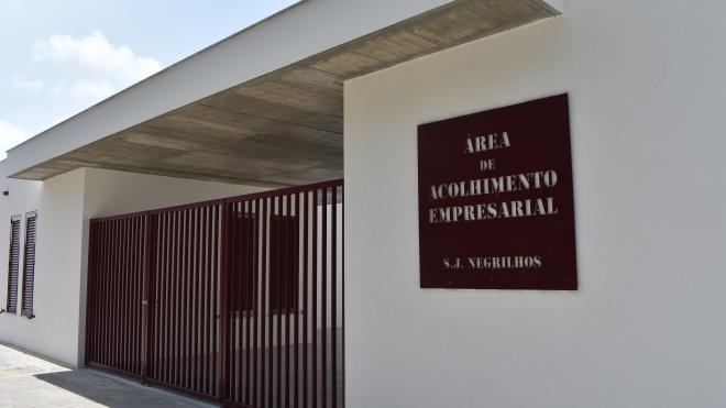 Está concluída a primeira fase da Área de Acolhimento Empresarial de São João de Negrilhos