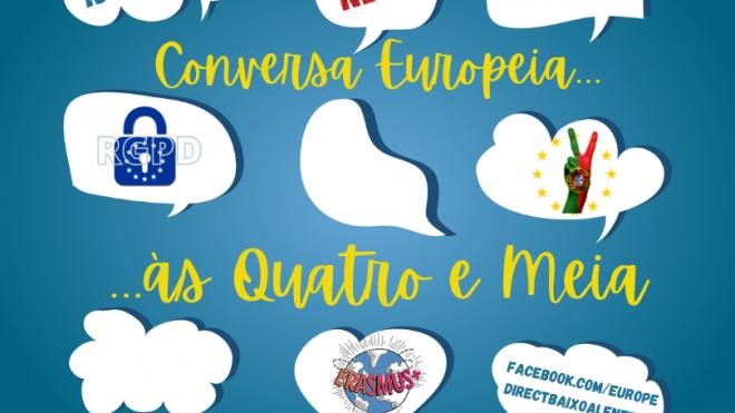 """""""Conversa europeia às quatro e meia"""" decorre até 16 de abril"""