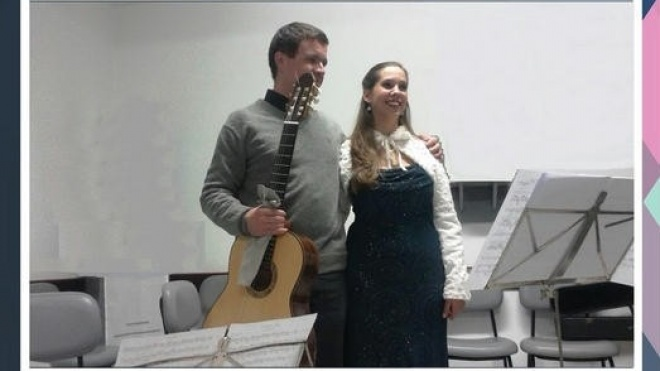 Concerto de Canto e Guitarra no Pax Julia