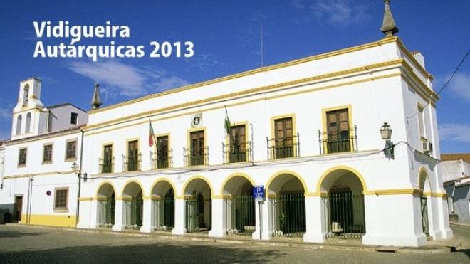 Autárquicas 2013: Vidigueira