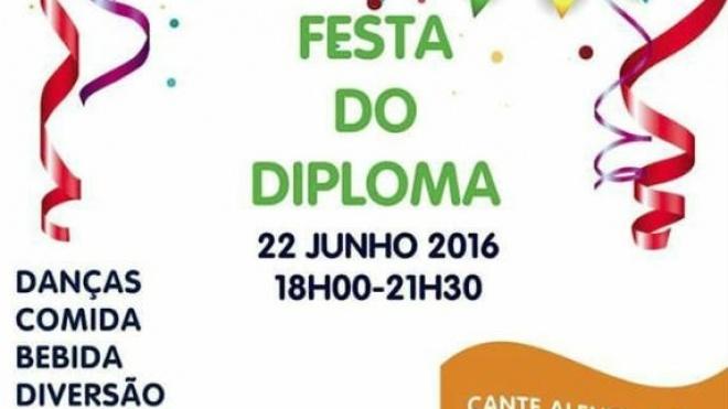 Festa do Diploma na Escola Mário Beirão