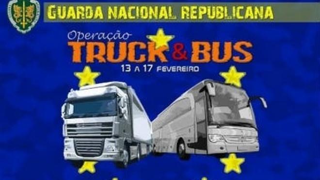 GNR com operação de fiscalização de veículos pesados