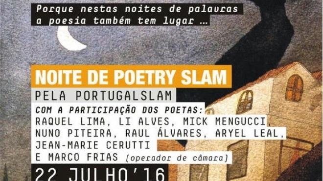 Noite de Poetry Slam em Beja