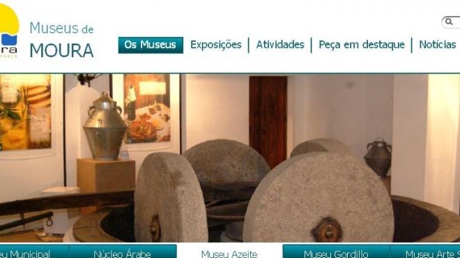 Museus de Moura com novo site