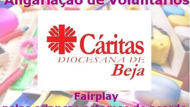 Cáritas com campanha de recolha de material escolar