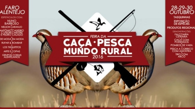 II Feira da Caça, Pesca e Mundo Rural em Faro do Alentejo