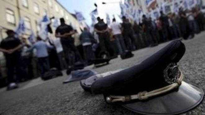 Profissionais das forças e serviços de segurança manifestam-se em Lisboa
