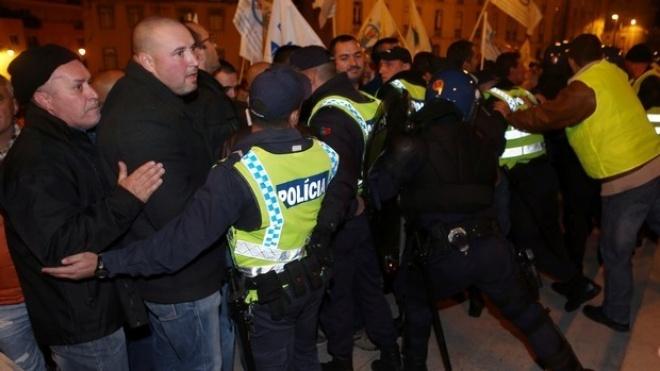 Milhares de agentes de segurança pública nas ruas de Lisboa