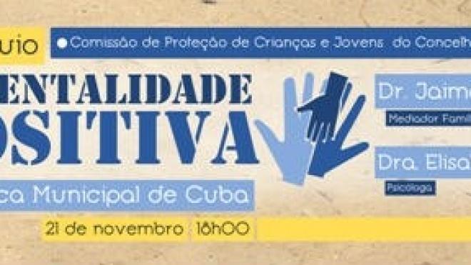 """CPCJ de Cuba organiza colóquio sobre """"Parentalidade Positiva"""""""