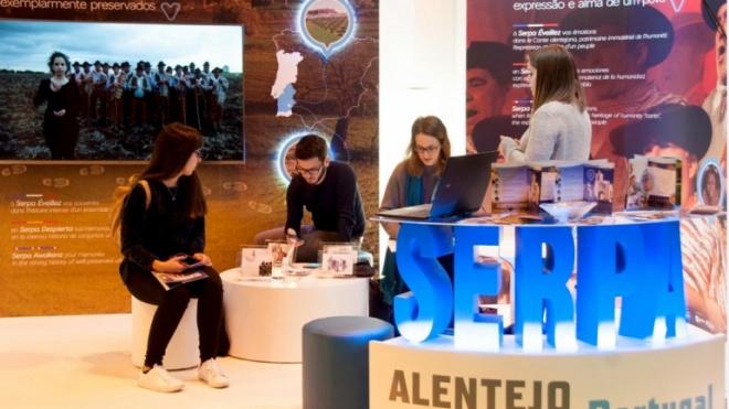 Serpa atraiu atenções do público profissional na FITUR