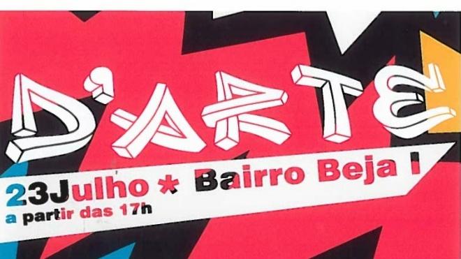 Graffiti Live Act no Bairro Beja I