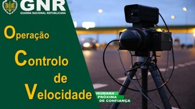 """GNR na estrada com """"Operação Controlo de Velocidade"""""""