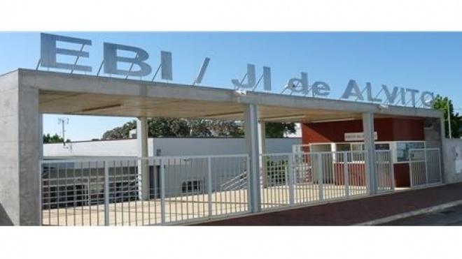 Escola EBI/JI de Alvito com obras de requalificação