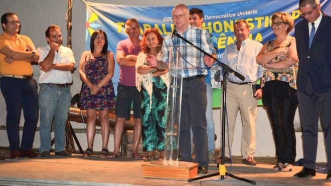 CDU de Moura apresenta candidatos e promove acções de informação