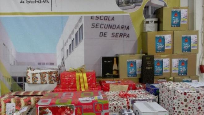 Agrupamentos de Escolas nº2 de Serpa distribuiu cabazes de Natal