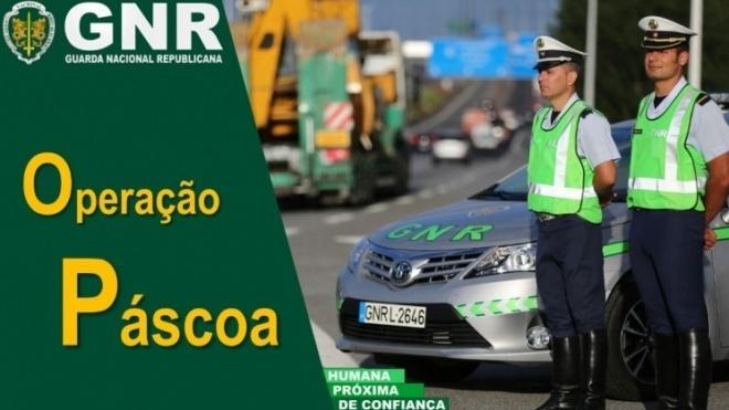 """GNR na estrada com """"Operação Páscoa"""""""